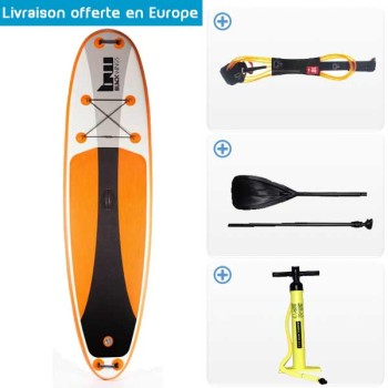SUP Gonflable Blackwings Complet 10'6""