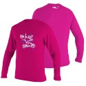 O'neill UV Protection Toddler Skins L/S Rash Tee Watermelon