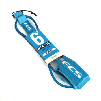Leash surf FCS Premium Regular - 6'
