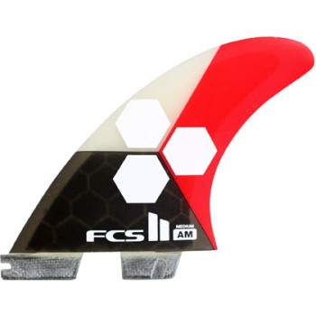 Ailerons surf FCS AM Thruster Al Merrick Medium