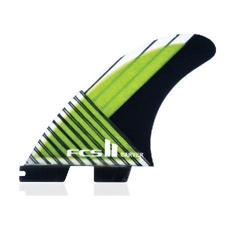 Ailerons surf FCS Carver Carbon Thruster Medium