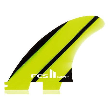 Ailerons surf FCS Carver NEO glass Thruster Medium