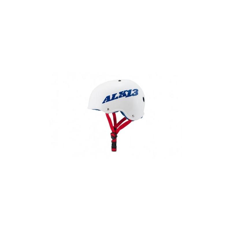 Casque ALK13 H2O+ White / Blue Logo