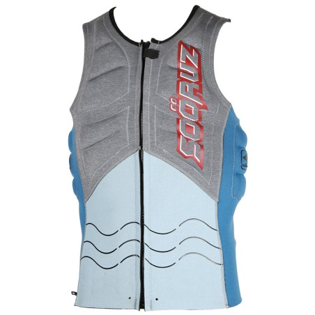 Soöruz Kitevest Front Zip OPEN Blue