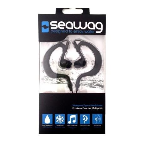 Écouteurs étanches Seawag avec micro (noir-prise Jack)