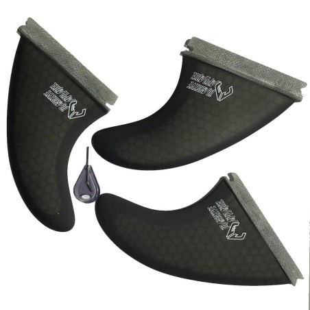Ailerons Massive Apparel type Future Honey Comp Tri Fin Set
