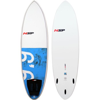 "Planche surf NSP Hybride 6'6"""
