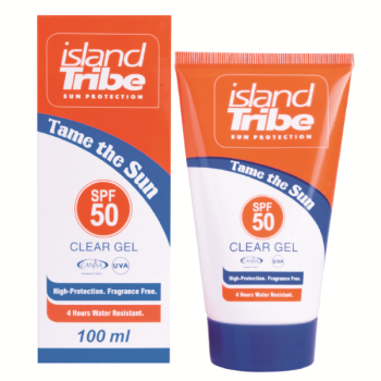 Crème solaire Island Tribe SPF50 gel 100ml