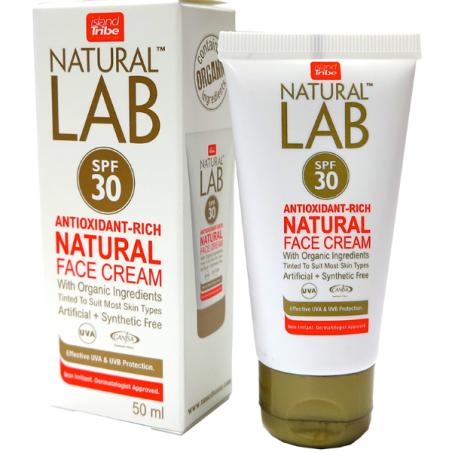 Crème Solaire Island Tribe SF30 Natural Lab
