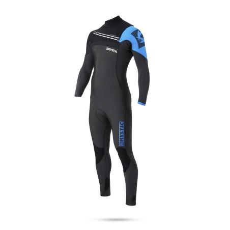 Combinaison Mystic Majestic 5/3 D/L Fullsuit Frontzip 2017 Blue