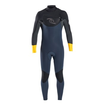 Combinaison Rip Curl Dawn Patrol 5/3 Chest Zip 2017 Neon