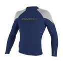 Top O'neill Hammer 1.5mm L/S Crew Navy