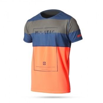 Lycra Mystic Star Quick Dry S/S Orange