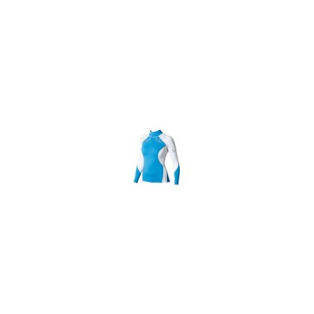 Maui Magic Rash Vest L/S Blue