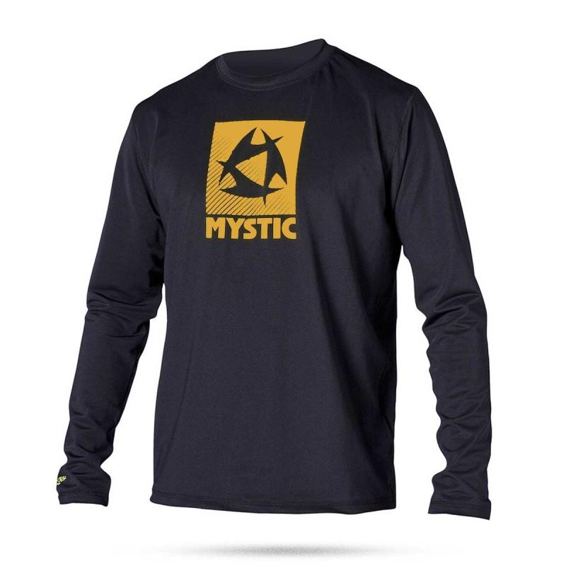 Lycra Mystic Star Quick Dry L/S Black/Orange