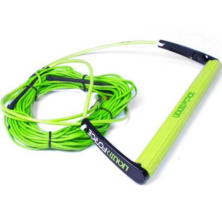 Palonnier Liquid Force Team + Corde Dyneema 70', Vert