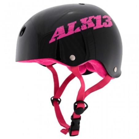 Casque ALK13 H2O+ Black / Pink Logo