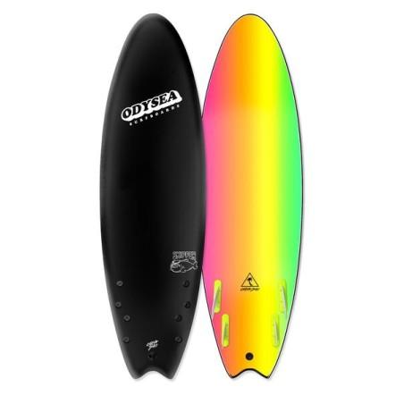 "Planche de Surf Odysea Skipper Quad 5'6"" Black"