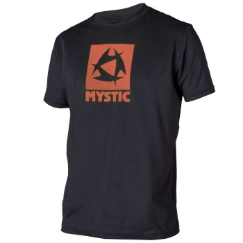 Lycra Mystic Star Quick Dry S/S Black/Orange