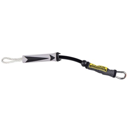 Mystic Handlepass Leash Neoprene Short Grey