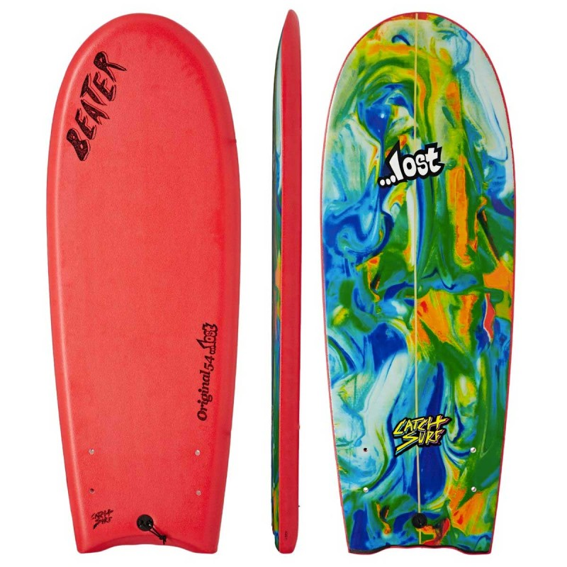 "Planche de Surf Odysea Beater Original 5'4"" Lost Edition 2 Red"