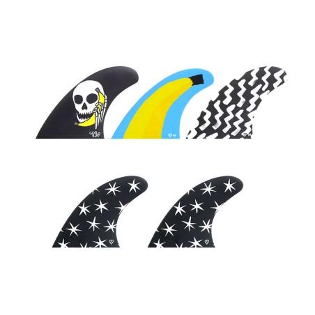 """Ailerons gorilla Tri Quad Futures Hello Str Fkrs """"M"""""""