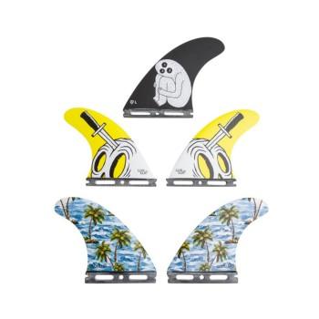 "Ailerons gorilla Tri Quad Futures Sloth Palm Trend Shank ""L"""