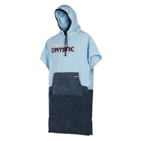 Poncho Mystic Navy Grey