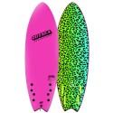 Planche de Surf Odysea Skipper Quad 6'0 Neon Pink