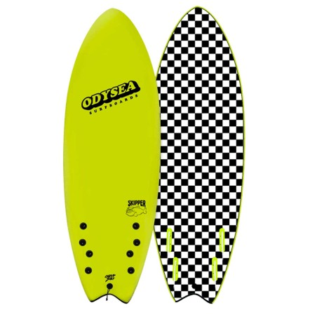 Planche de Surf Odysea Skipper Quad 5'6 Electric Lemon