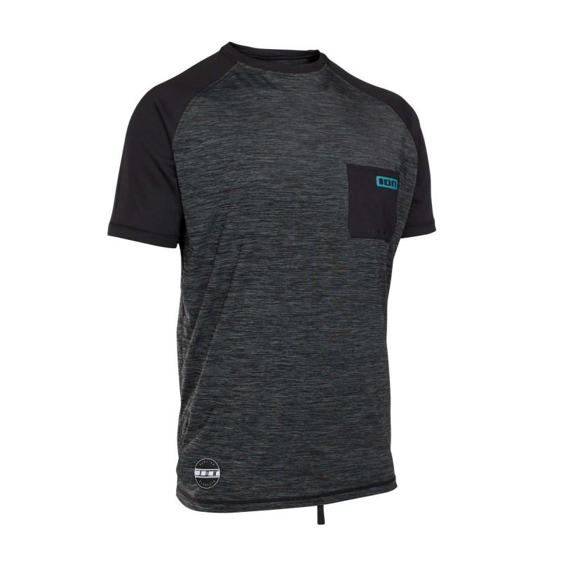 Lycra ION Wetshirt SS 2018 Black Melange