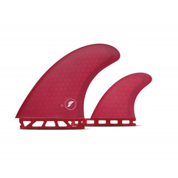 Ailerons Futures T1 TWIN Hex Red