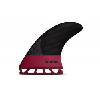 Ailerons Futures Tri-fins F8 Blackstix Carbon