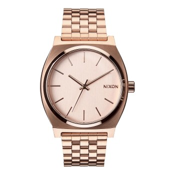 Montre Nixon Time -Teller All Rose Gold