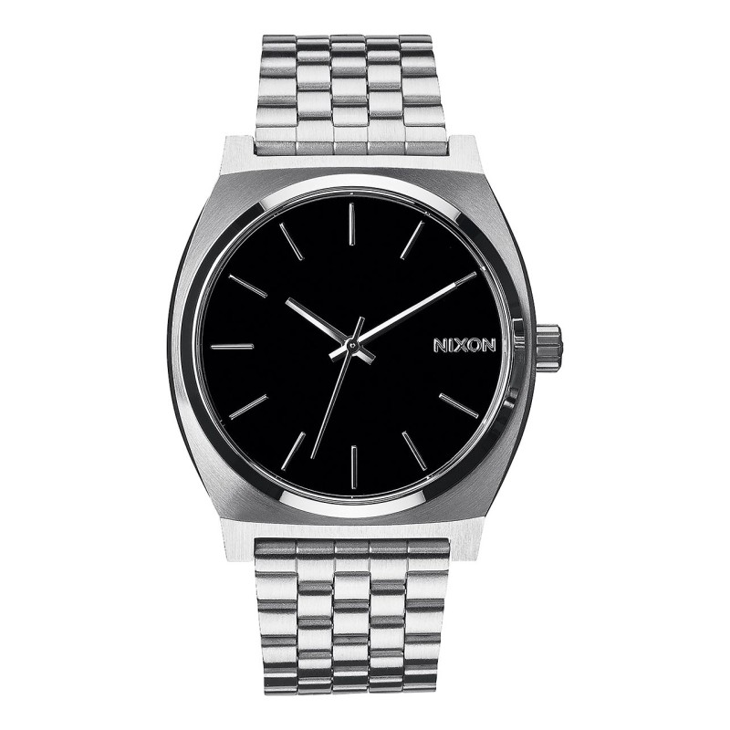 Montre Nixon Time -Teller Silver / Black