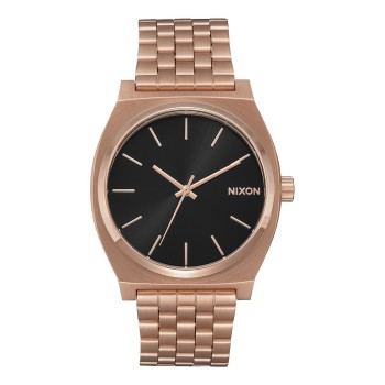 Montre Nixon Time -Teller Rose Gold / Black