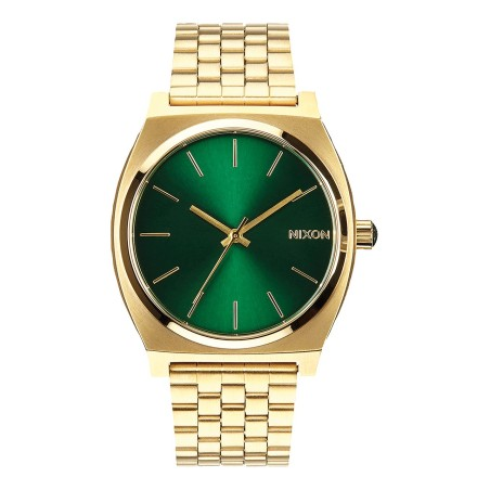 Montre Nixon Time -Teller Gold / Green