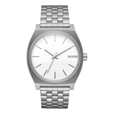 Montre Nixon Time -Teller Silver / White