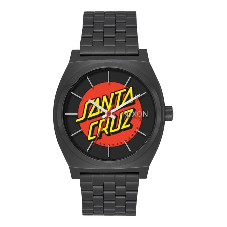Montre Nixon Time -Teller Santa Cruz Black