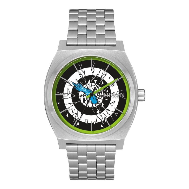 Montre Nixon Time -Teller Santa Cruz silver / roskopp