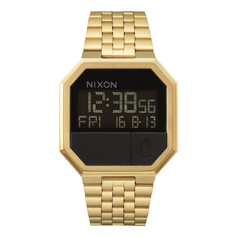 Montre Nixon Re-Run Gold