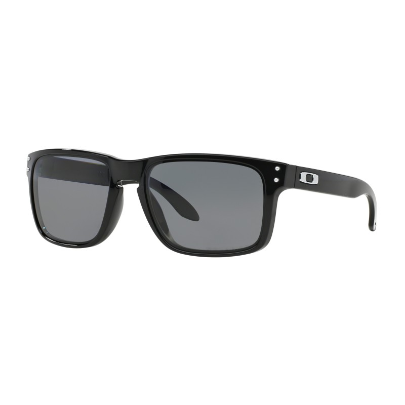 Lunettes de soleil Oakley Holbrook Polished Black / Grey Polarized