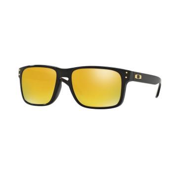 Lunettes de soleil Oakley Holbrook Polished Black / 24K Iridium