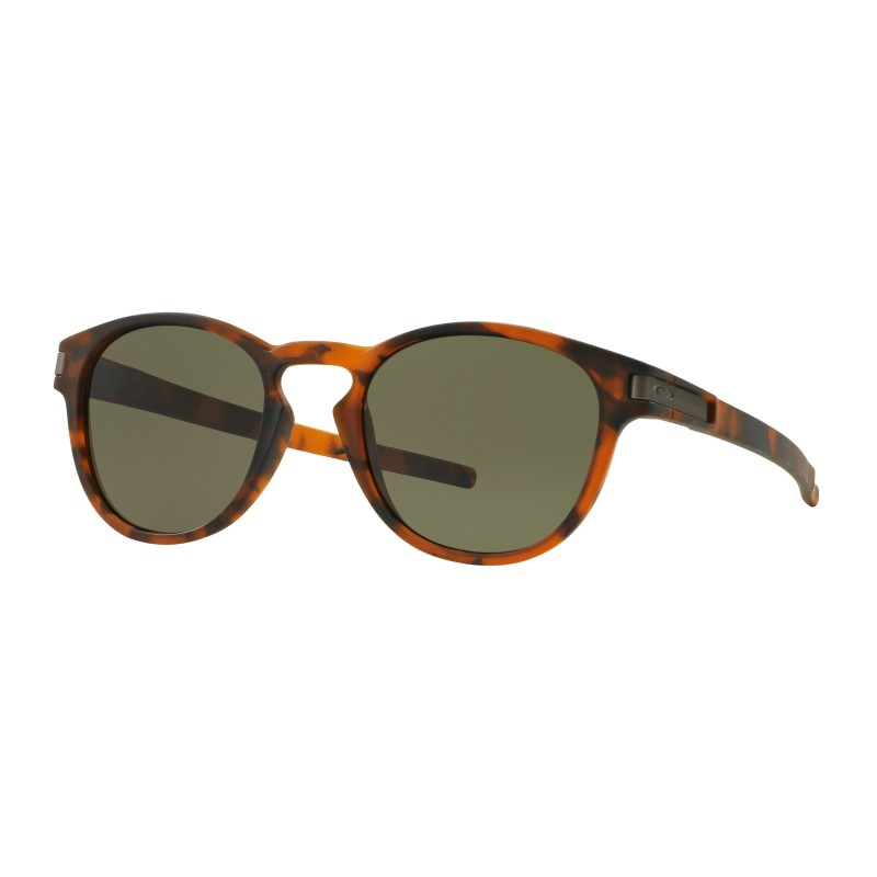 Lunettes de soleil Oakley Latch Matte Brown Tortoise / Dark Grey