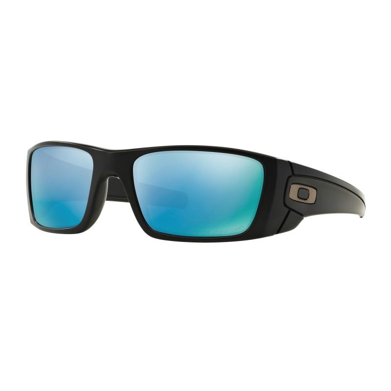 Lunettes de soleil Oakley Fuel Cell Matte Black / Prizm Deep BiPolar