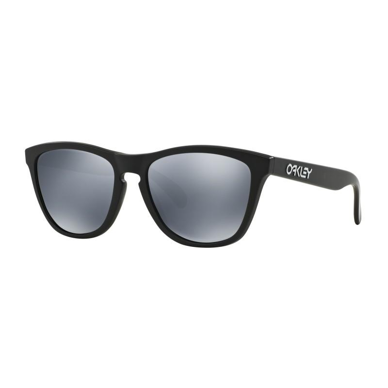 Lunettes de soleil Oakley Frogskins Matte Black / Black Iridium Polarized