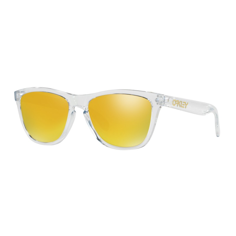 Lunettes de soleil Oakley Frogskins Crystal Clear / 24K Iridium