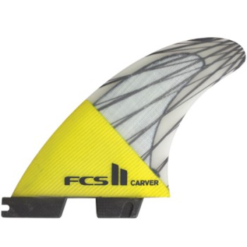 Ailerons FCS II Carver PC Carbon Tri Set