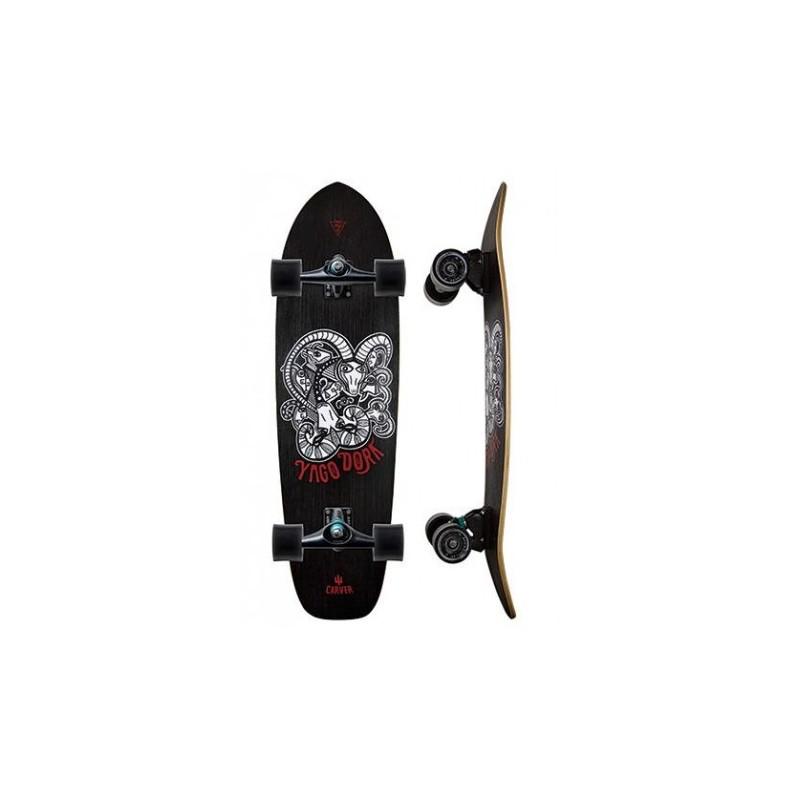 """Carver Skate Skinny Goat Yago Dora Pro 33""""75 (C7)"""