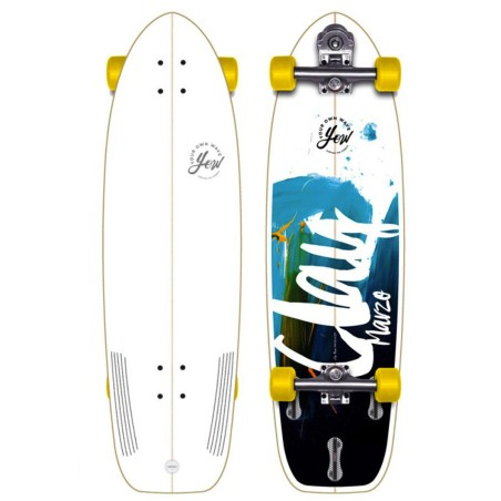 Surf skate YOW Clay Marzo signature series 34.5""
